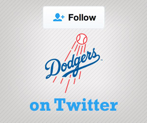 Follow the Dodgers on Twitter