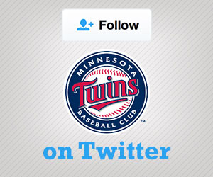 Follow the Twins on Twitter