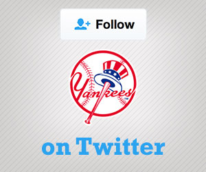 Follow the Yankees on Twitter