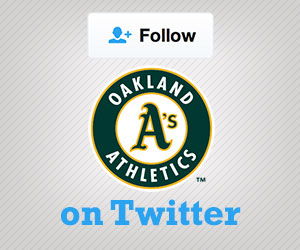 Follow the A's on Twitter