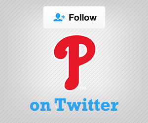 Follow the Phillies on Twitter