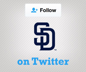 Follow the Padres on Twitter