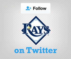 Follow the Rays on Twitter