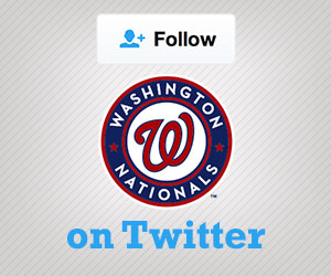 Follow the Nationals on Twitter