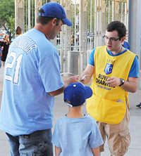 Volunteer for Royals Charities
