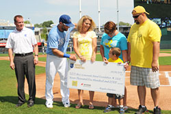 Royals Charities Check Presentation