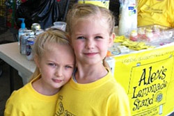 Lemonade Stand Girls