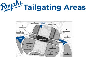 2012 Tailgating Location Map