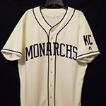 Paulo Orlando Game-Used and Autographed Kansas City Monarchs Jersey