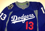 LA Dodgers Kings Hockey Jersey #1