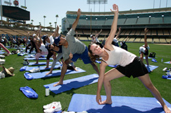 Yoga with Andre Ethier