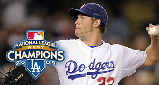 2009 NA Lwest Champion Los Angeles Dodgers