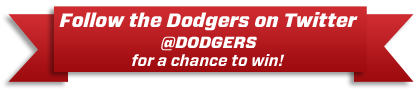 Follow the Dodgers on Twitter for a Chance to Win