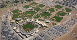Camelback Ranch-Glendale - ariel view