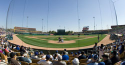 Camelback Ranch-Glendale - fisheye view