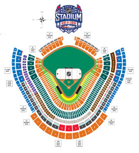 NHL Stadium Series Seating