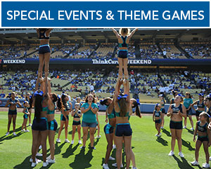 Special Events & Theme Games