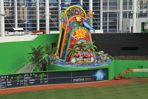 Home Run Sculpture