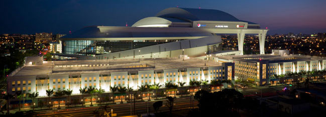 Marlins Park Roof