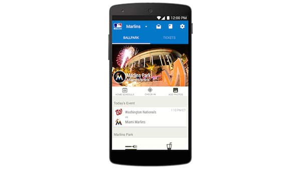 At the Ballpark Mobile App