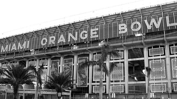 Orange Bowl Site History