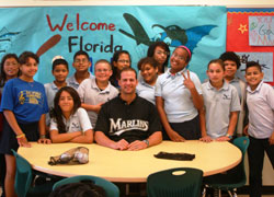 Marlins @ School