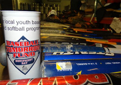 Baseball Tomorrow Fund Youth Equipment Drive