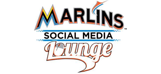 Marlins Social Media Lounge