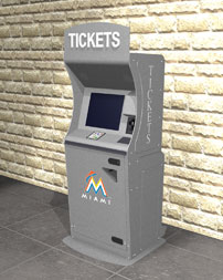 Marlins Ticket Kiosk