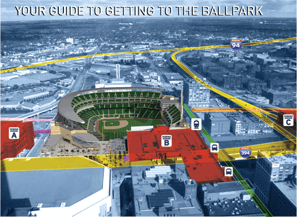 Your Guide to Getting to the Ballpark