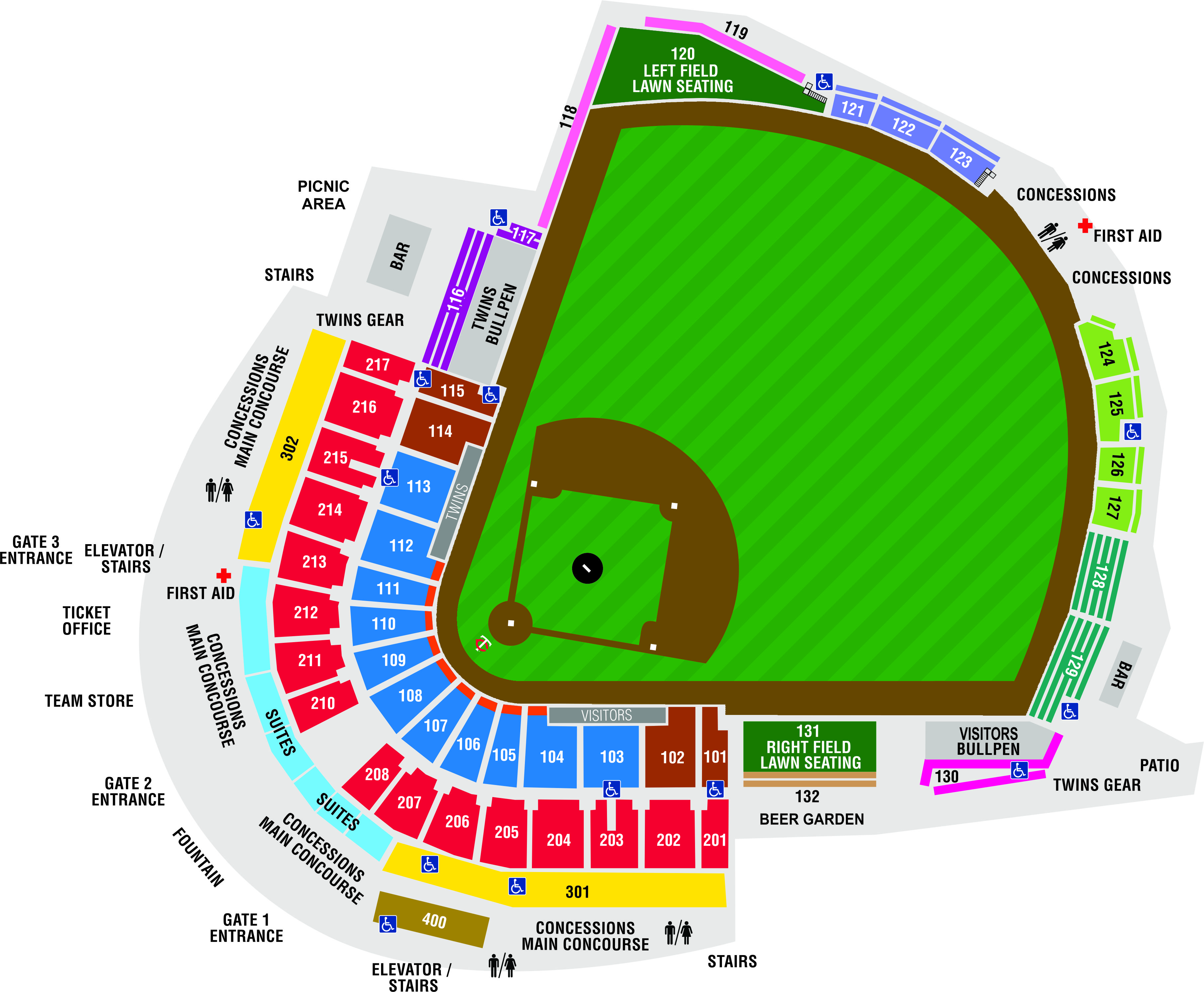 Hammond Stadium Fort Myers Florida Minnesota Twins Spring Training Facility Tickets Twinsbaseball Ft Sanibel Family Fun