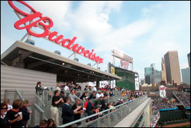Budweiser Roof Deck