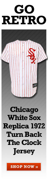 Go Retro. Chicago White Sox Replica 1972 Turn Back The Clock Jersey. Shop Now