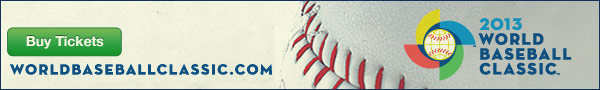 The 2013 World Baseball Classic returns this March. Stay updated with all of the latest news, updates and ticket options