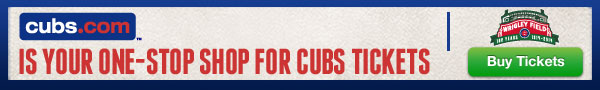 cubs.com is your one-stop shop for Cubs tickets.