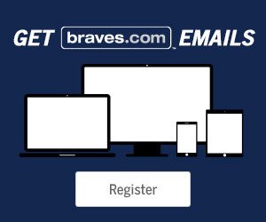 Register for braves.com emails!