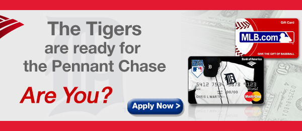 The Tigers Are Ready for the Pennant Chase. Are You? Apply Now >