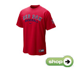 Boston Red Sox Practice T-Shirt 10 by Nike