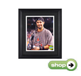 Mounted Memories Boston Red Sox Mike Lowell 2007 WS MVP 8x10 Framed Photograph