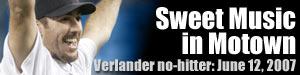 Justin Verlander, No-hitter