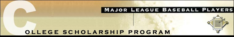 Major League Baseball Players College Scholarship Program
