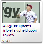 Upton's triple is upheld upon review