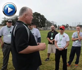 Major League Baseball launched a series of free, one-day umpire camps with an exclusive event for the United States Marine Corps