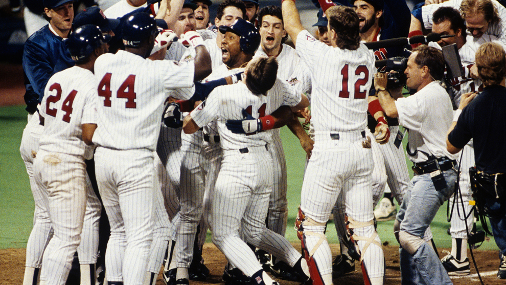 Postseason History: 1991 WORLD SERIES | MLB com