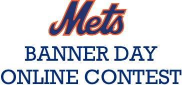 Mets Banner Day Online Contest