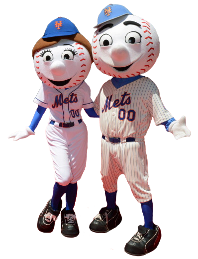Mr. & Mrs. Met