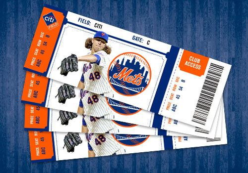 Mets home game tickets