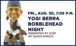 Yogi Berra Bobblehead