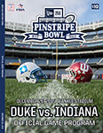 New Era Pinstripe Bowl official game program