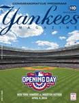 Opening Day Game Program